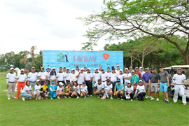 TSG title sponsor for HKBAV 2nd Annual Charity Golf Tournament at Song Be Golf Course - 10/11/2017